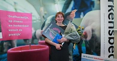 Sabine Grobbink wint Agrafiek Award 2017